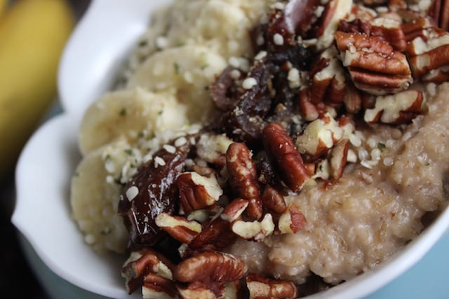 Pecan Maple Oatmeal 3