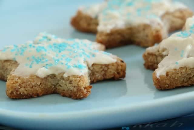 No Flour Sugar Cookies