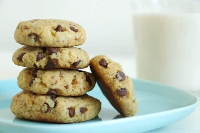 Flourless Chocolate Chip Cookies Gluten Free