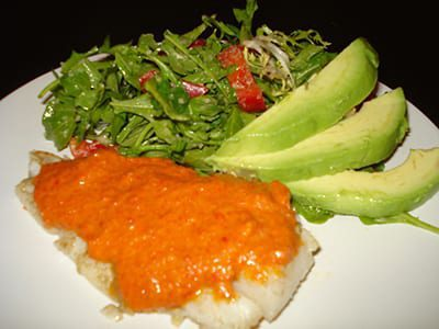 Roasted-Red-Pepper-Sauce-for-Fish