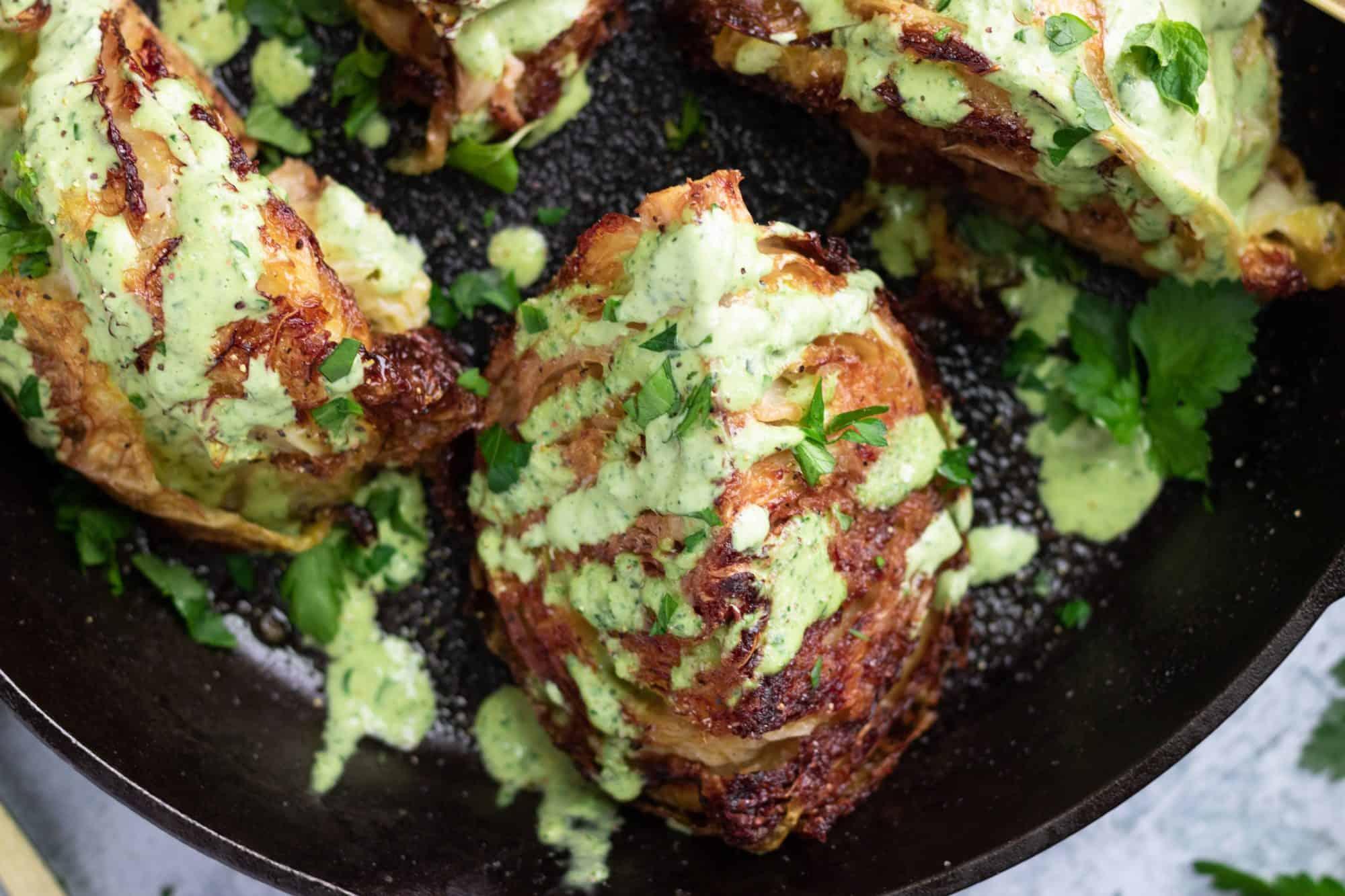 Roasted Crispy Cabbage Recipe