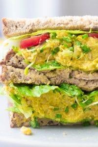 Chickpea Egg Salad Sandwich