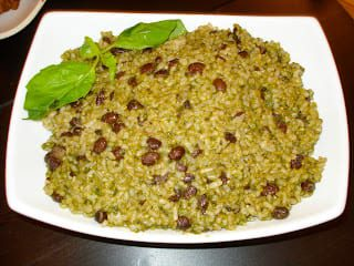 healthy green goddess brown rice recipe