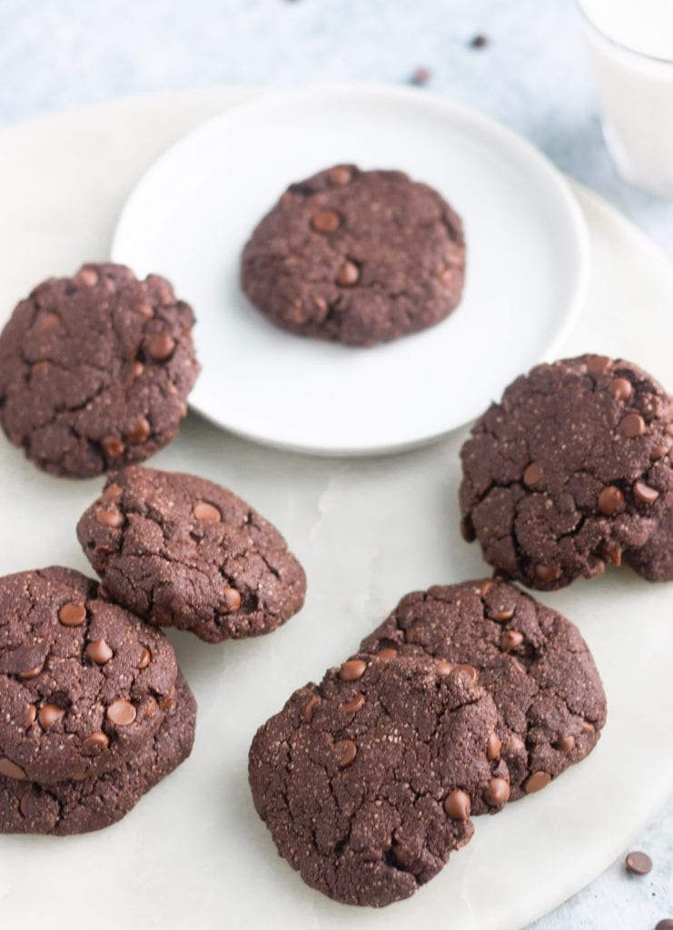 Vegan Double Chocolate Chip Cookie Recipe