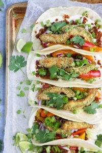 Paleo Vegan Crispy Vegan Tacos