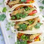 Vegan Crispy Avocado Tacos