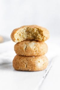 Vegan Gluten-Free Refined Sugar-Free Snickerdoodle Cookie Recipe