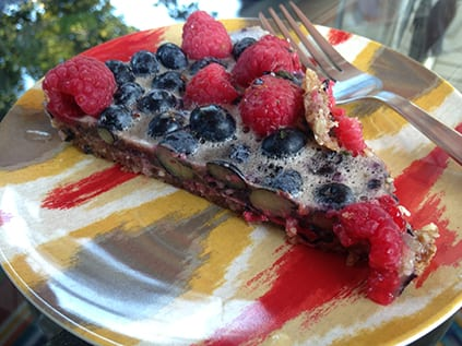 Chilled-berry-pie