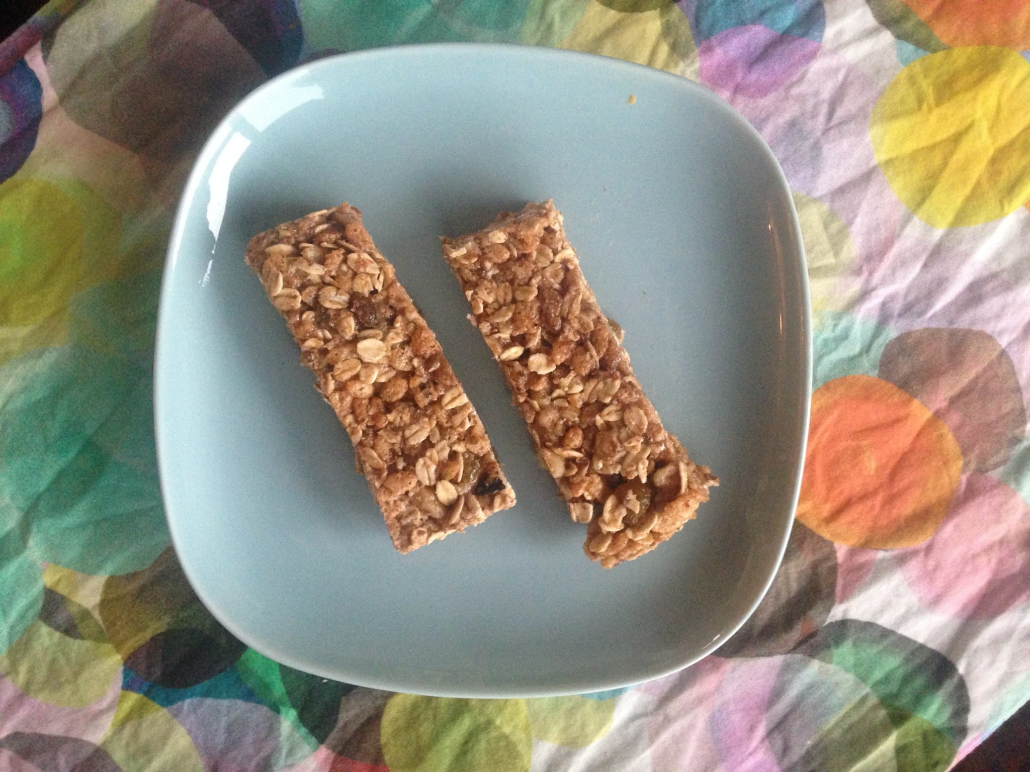 Homemade Granola Bars Take 2