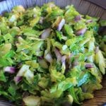 Easy Dinner Idea with Precut Veggies: Shaved Brussels Sprouts