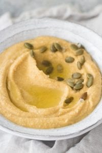 Pumpkin Garlic Hummus