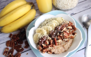 Pecan Maple Oatmeal