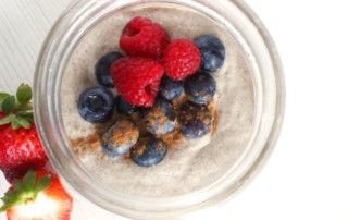 Vanilla-Cinnamon Vegan Overnight Porridge