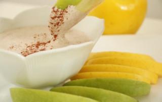 Creamy Non-Dairy Fruit Dip
