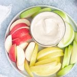 vegan creamy fruit dip