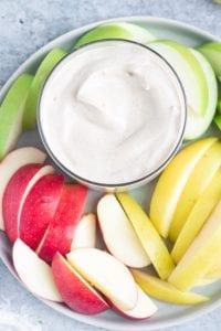 vegan fruit dip