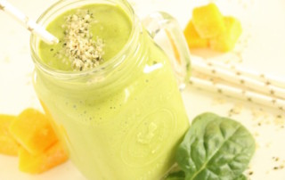 Tropical Green Protein Smoothie