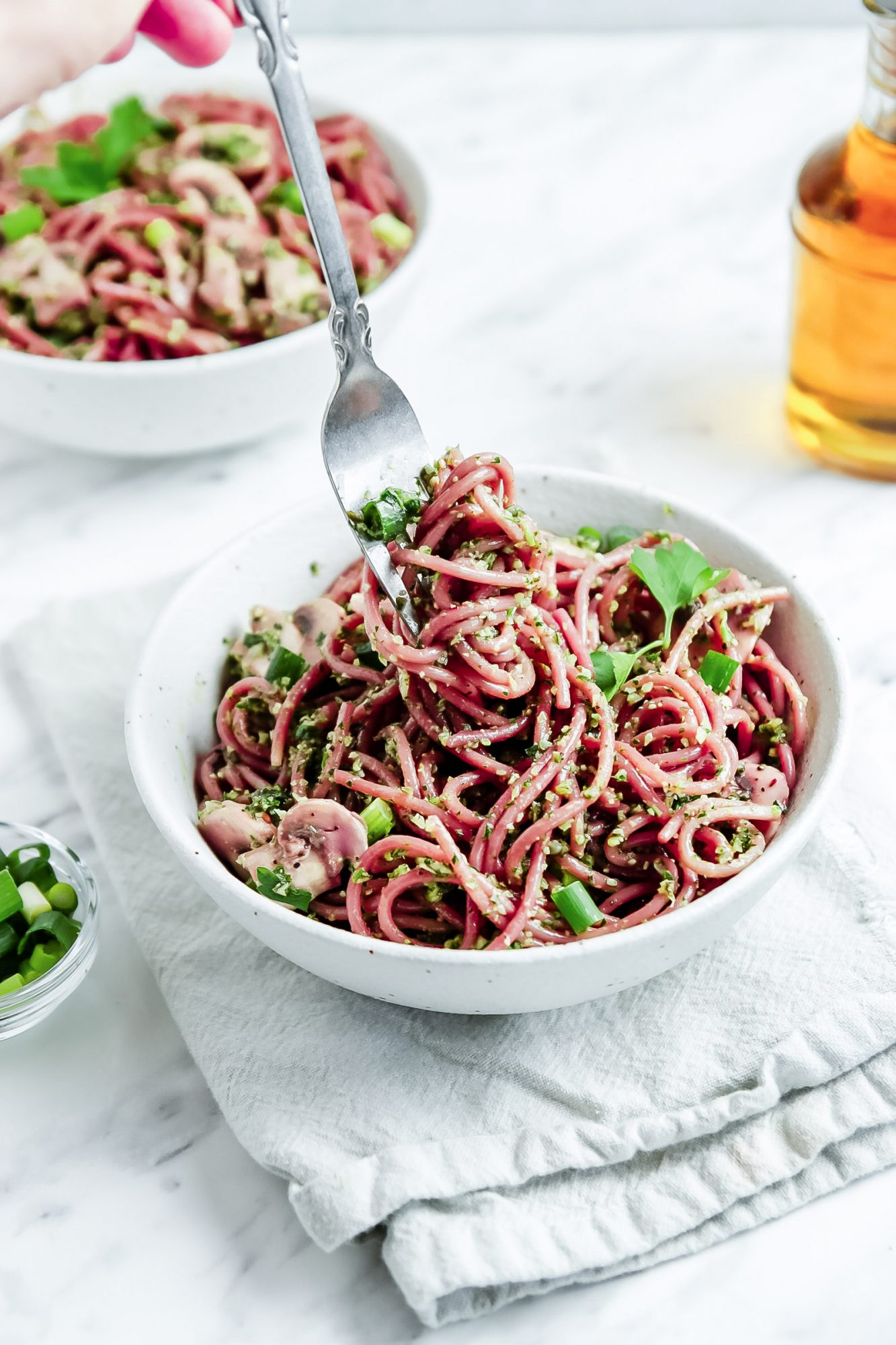 Vegan Red Wine Pasta