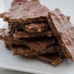 3-Ingredient Fudgy Crispy Bark
