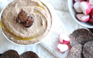 Salty Fig Hummus EatingbyElaine