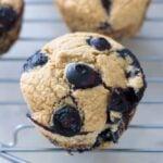 Vegan Gluten-Free Blueberry Muffins