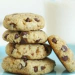 Chocolate Chip Almond Flour Cookies