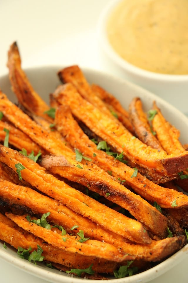 Baked Sweet Potato Fries Gluten Free
