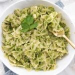Parsley-Pea Pesto Pasta
