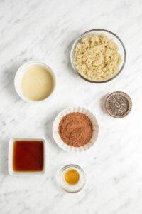 Fudgy Quinoa Bite Ingredients