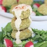 Baked Broccoli and Quinoa Falafel