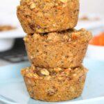 Carrot Quinoa Protein Muffins (vegan + gluten-free + nut-free)