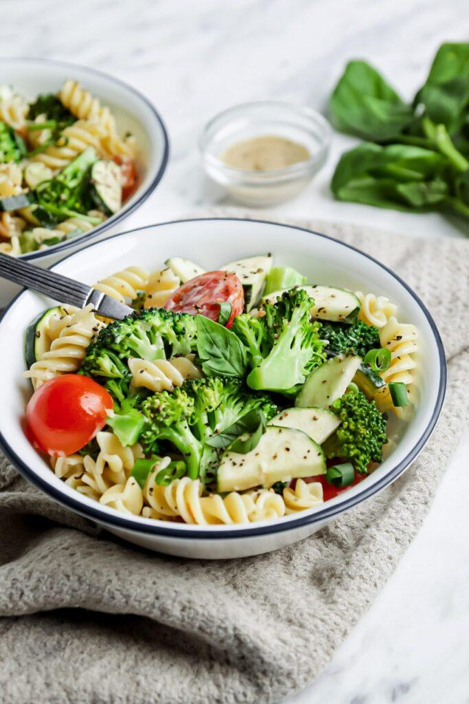 Creamy Vegan Broccoli Pasta Salad