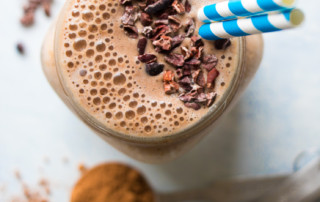Healthy Vegan Chocolate Mocha Smoothie