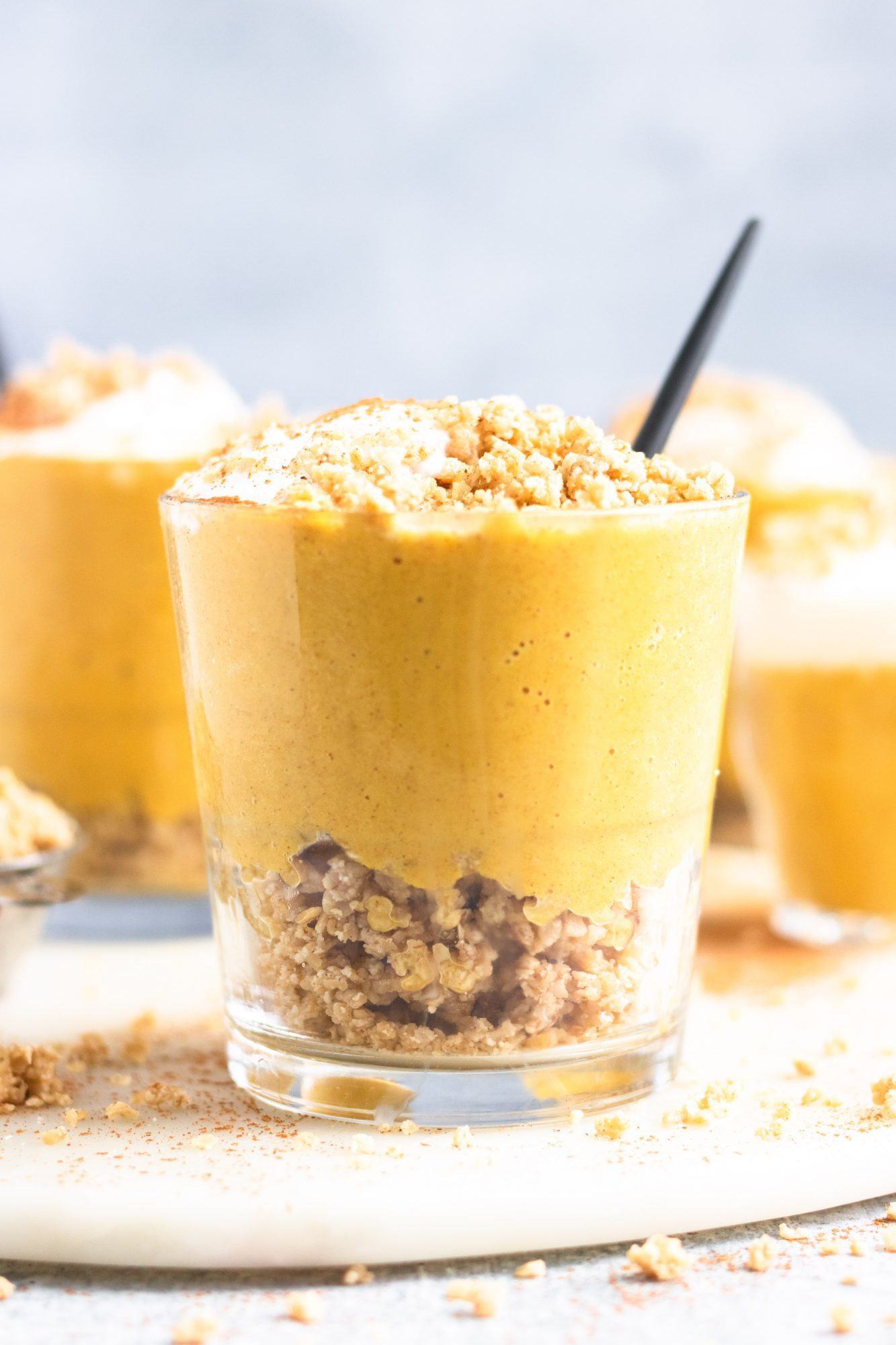 How to make a pumpkin smoothie