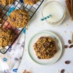 Soft-Baked Oatmeal Raisin Cookies (vegan + gluten-free + nut-free)