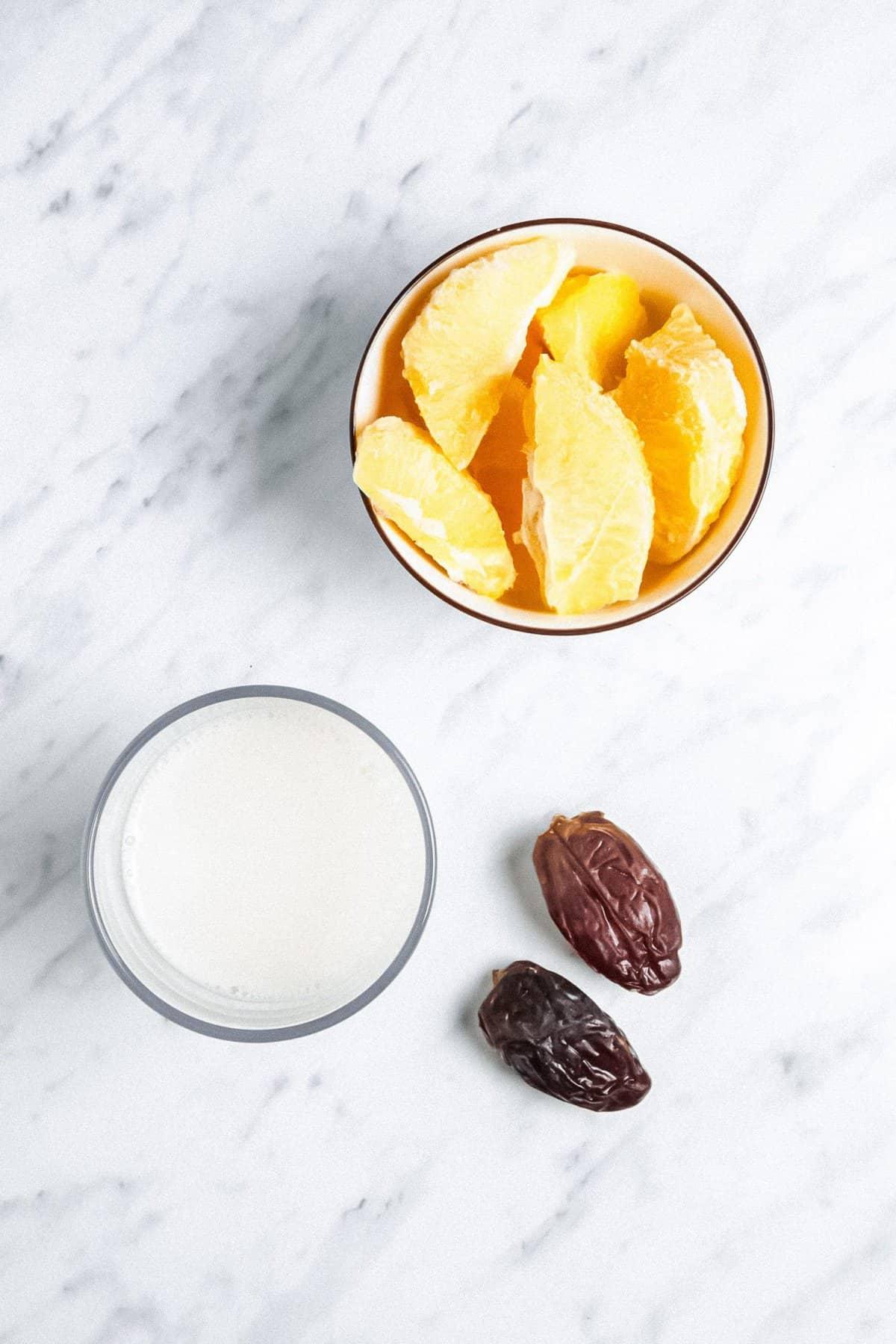 Creamsicle Smoothie Ingredients