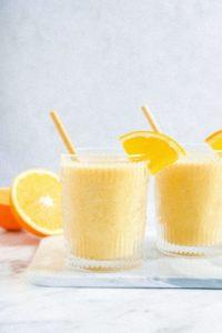 3-Ingredient Creamsicle Smoothie