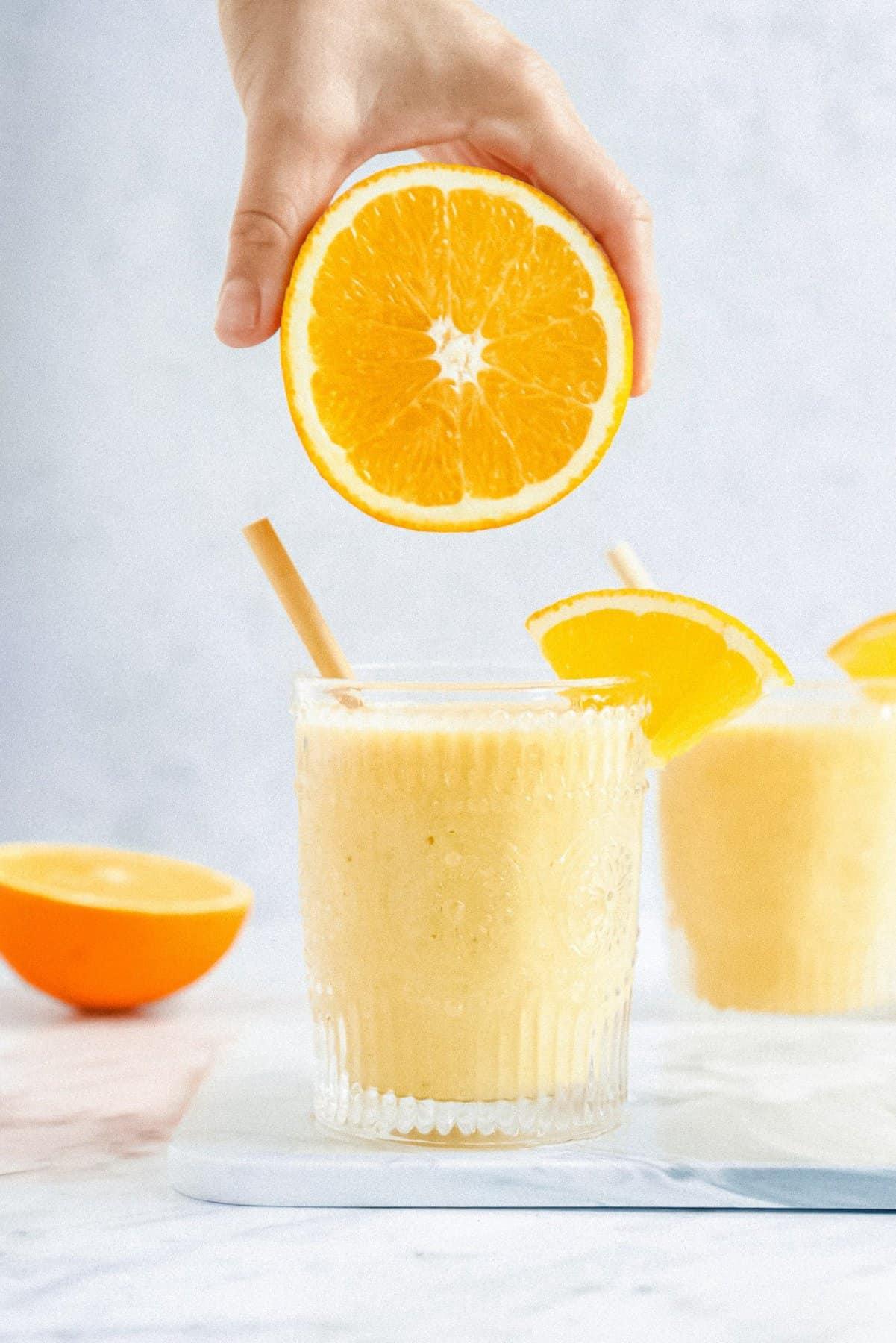 Vegan Orange Smoothie
