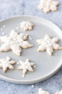 Vegan Sugar Cut Out Cookies