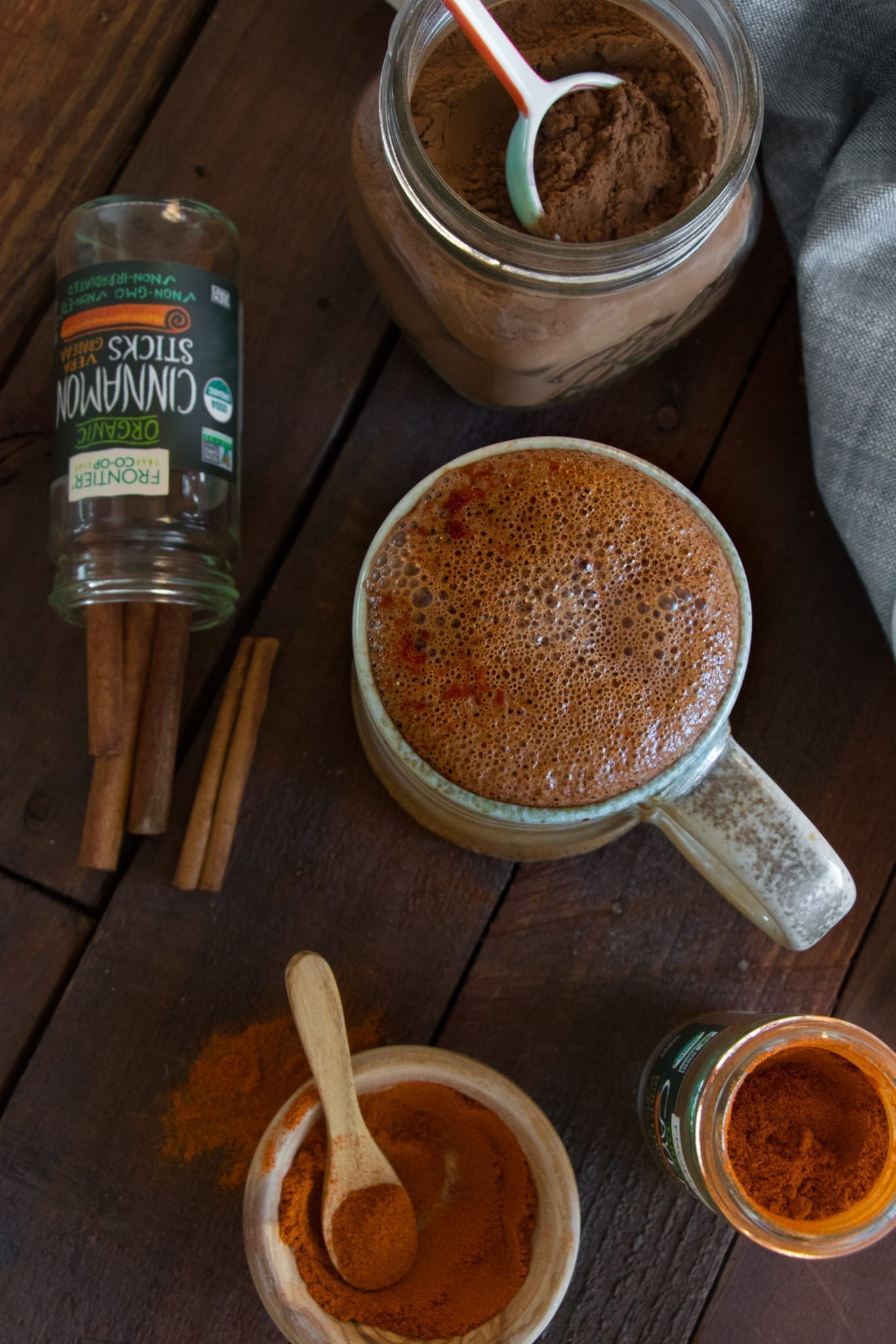 Vegan Mexican Hot Chocolate | Eating by Elaine