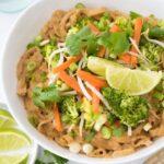 Noodles & Company Copycat Indonesian No-Nut Saute (vegan + gluten-free + soy-free)