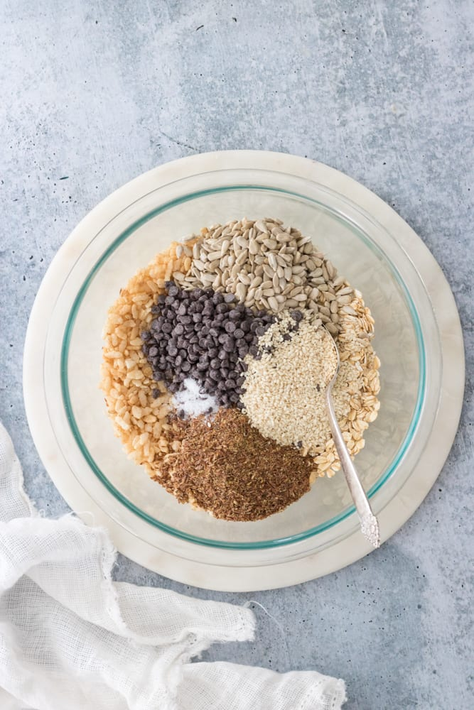 no-bake vegan granola bars chewy