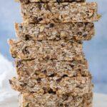 Super Seed No-Bake Chewy Granola Bars (vegan + gluten-free)
