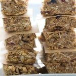 Super Seed No-Bake Chewy Granola Bars