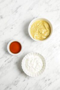Ingredients for Vegan Honey Mustard Sauce