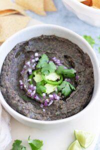 Easy Homemade Black Bean Dip
