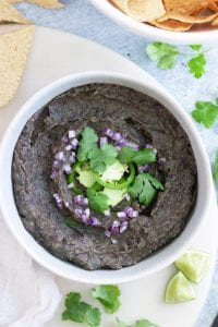 The Best Homemade Black Bean Dip