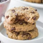 Vegan and Gluten-Free Healthy Chocolate Chip Cookies