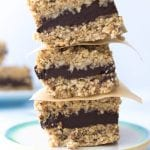 Raw, Vegan Chocolate Filled Snack Bars (gluten-free and nut-free)