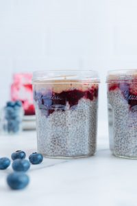 Chia Seed Pudding Toppings